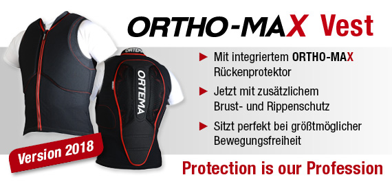 ortema sport protection ORTHO MAX Vest