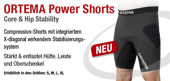 ortema sport protection power shorts