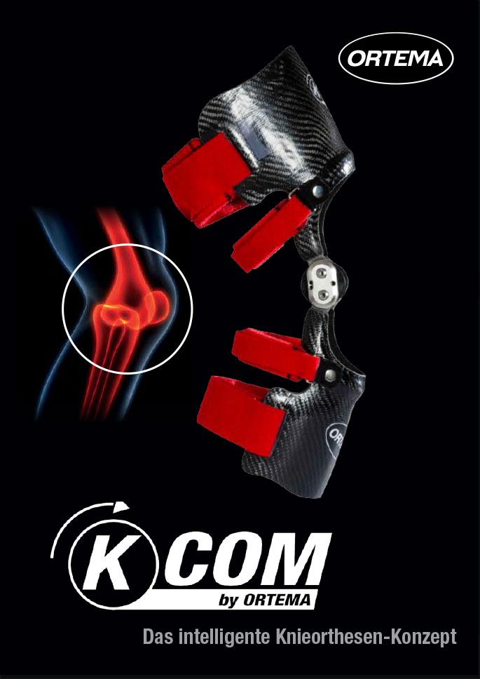 Ortema K-COM Das intelligente Knieorthesen-Konzept