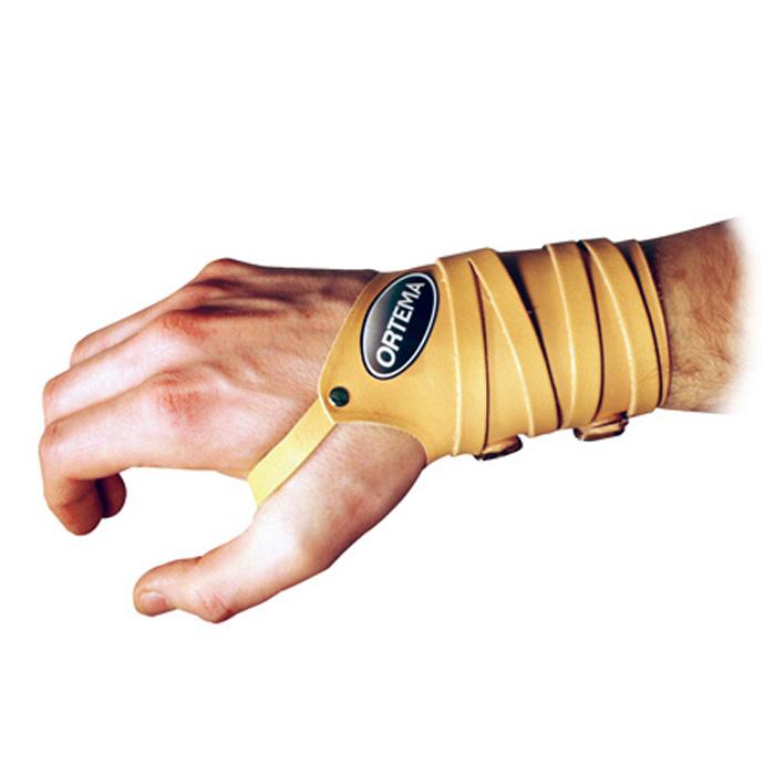Lederhandgelenkstütze zur Stabilisierung des Handgelenks